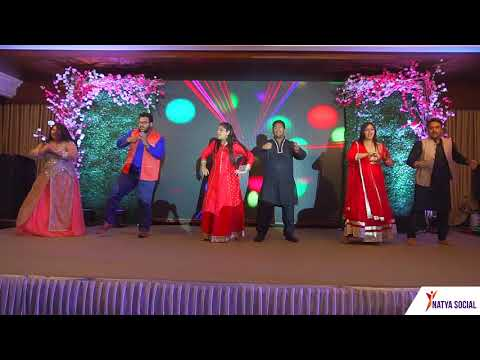 Maahi Ve - Kal Ho Na Ho | Wedding Choreography | Natya Social