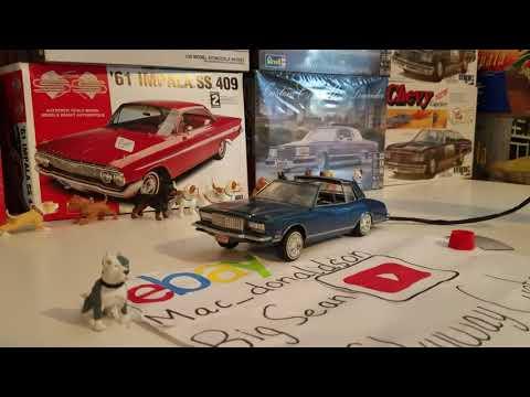 Training Day Monte Carlo Lowrider Hydraulic Hoppin Model Car For