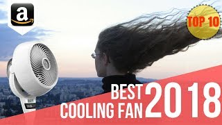 10 Best and Most Cooling Fans in 2018 | Top 10 Pedestal and Oscillating Fans on Amazon