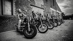 Road Roses - Bikergirls-Fotoshooting - Harley Davidson