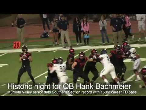 QB Hank Bachmeier sets Southern Section record