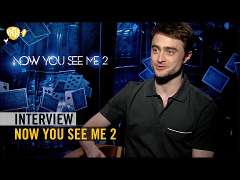 Now You See Me 2 - Interview - Mark Ruffalo + Dave Franco + Daniel Radcliffe - Pathé