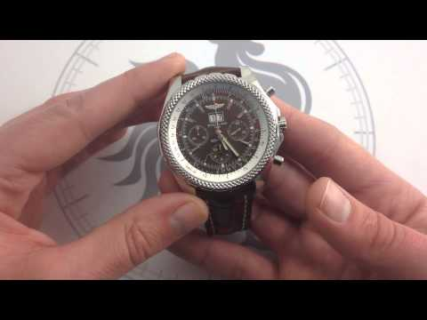 Bretiling for Bentley 6.75 Chronograph Luxury Watch Review