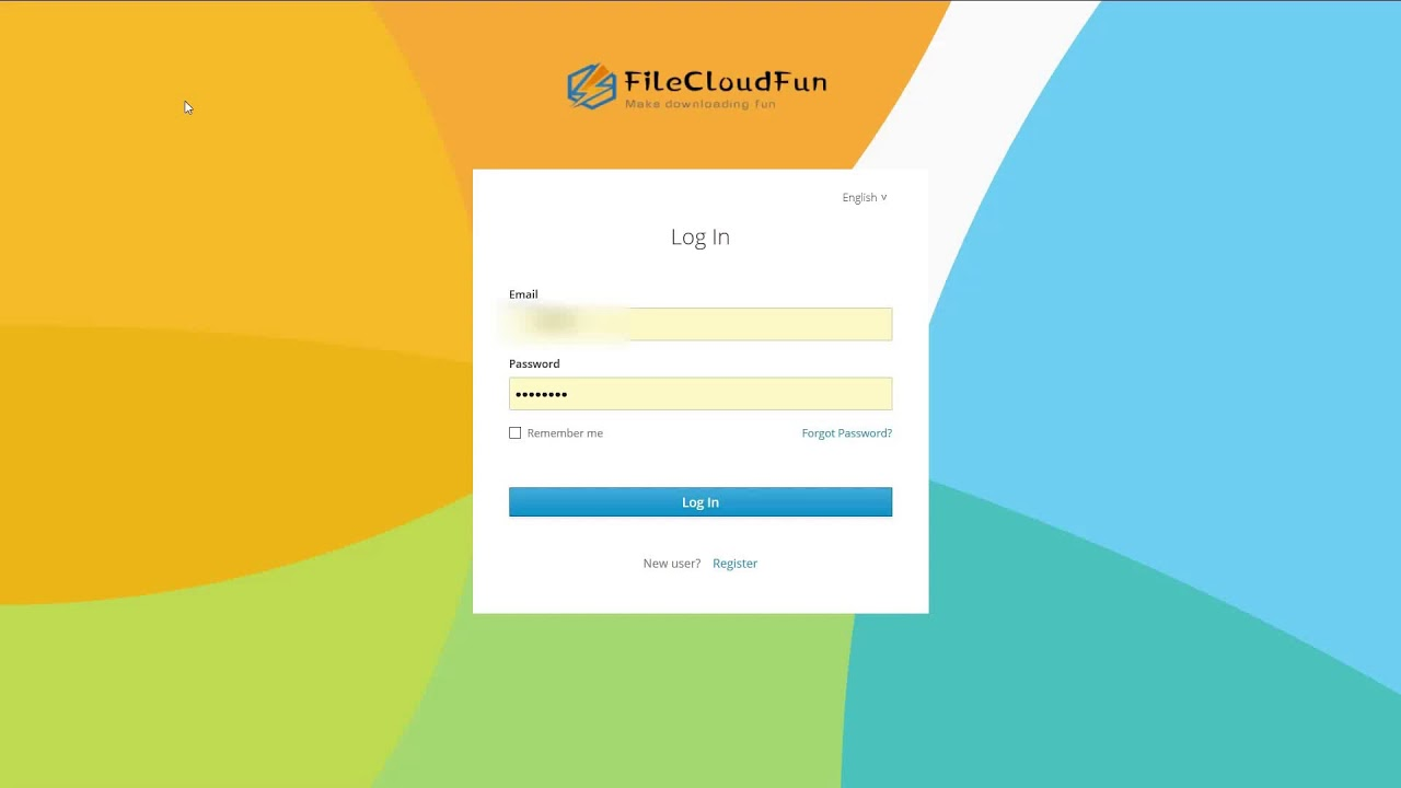 How to download files in an instant via filecloudfun, Faster than 100m/s