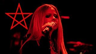 AVRIL LAVIGNE HAILS SATAN DURING BELTANE RITUAL ON TV...