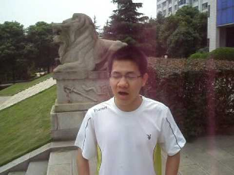 I Have a Dream/ Changsha China Student Chenliang recites MLK Speech
