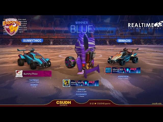 Rocket League Practice and Team Development - CSUDH Esports (05/20/2020)