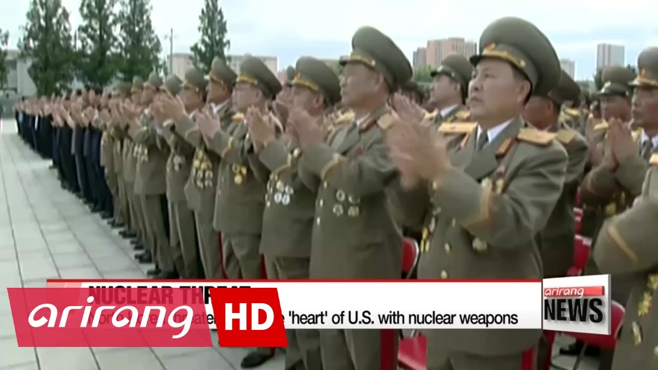 North Korea threatens to strike US with unknown weapons 08/16/2015 66