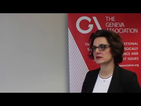 Maryam Golnaraghi, Director of Extreme Events and Climate Risk at The Geneva Association