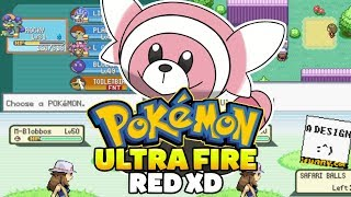 Pokémon Ultra Fire Red Xd - Gonzagasports