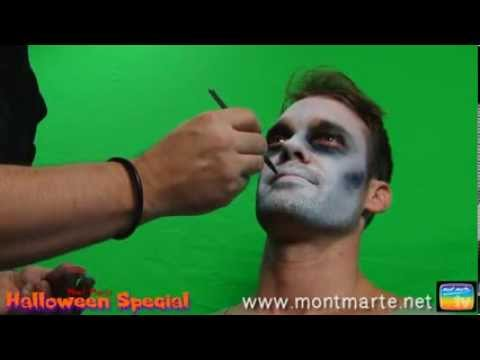Art Lesson: How to Create a Zombie Using Face Paint