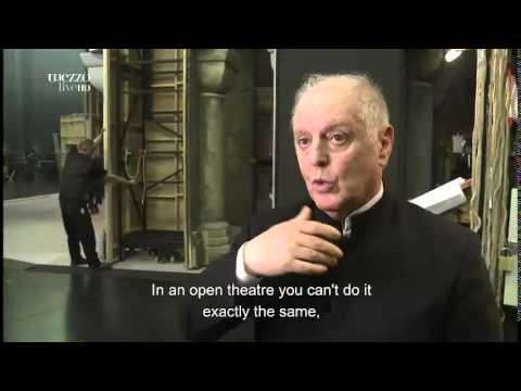 Barenboim interview at Parsifal Berlin 18 4 2015