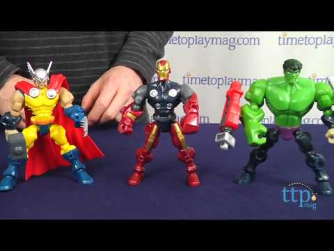 Animated Watch Wallpaper For Mobile Marvel Super Hero Mashers Thor From Hasbro Youtube