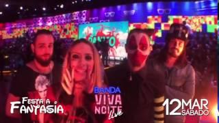 Banda Viva Noite - Festa a Fantasia Atlantic Hall 12/03/2016