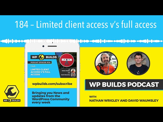 184 – Limited client access v's full access