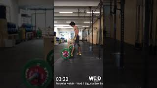 Forcolin Kelvin Crossfit Fonderia wod 1 Liguria Box Battle 2018 cat Scaled