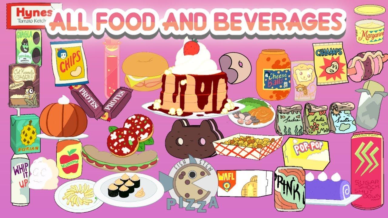 ALL FOOD & BEVERAGES in Steven Universe/Steven Universe Future