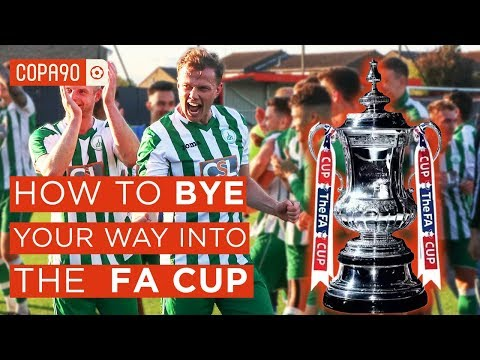 How To Bye Your Way To The FA Cup | Chichester City FC