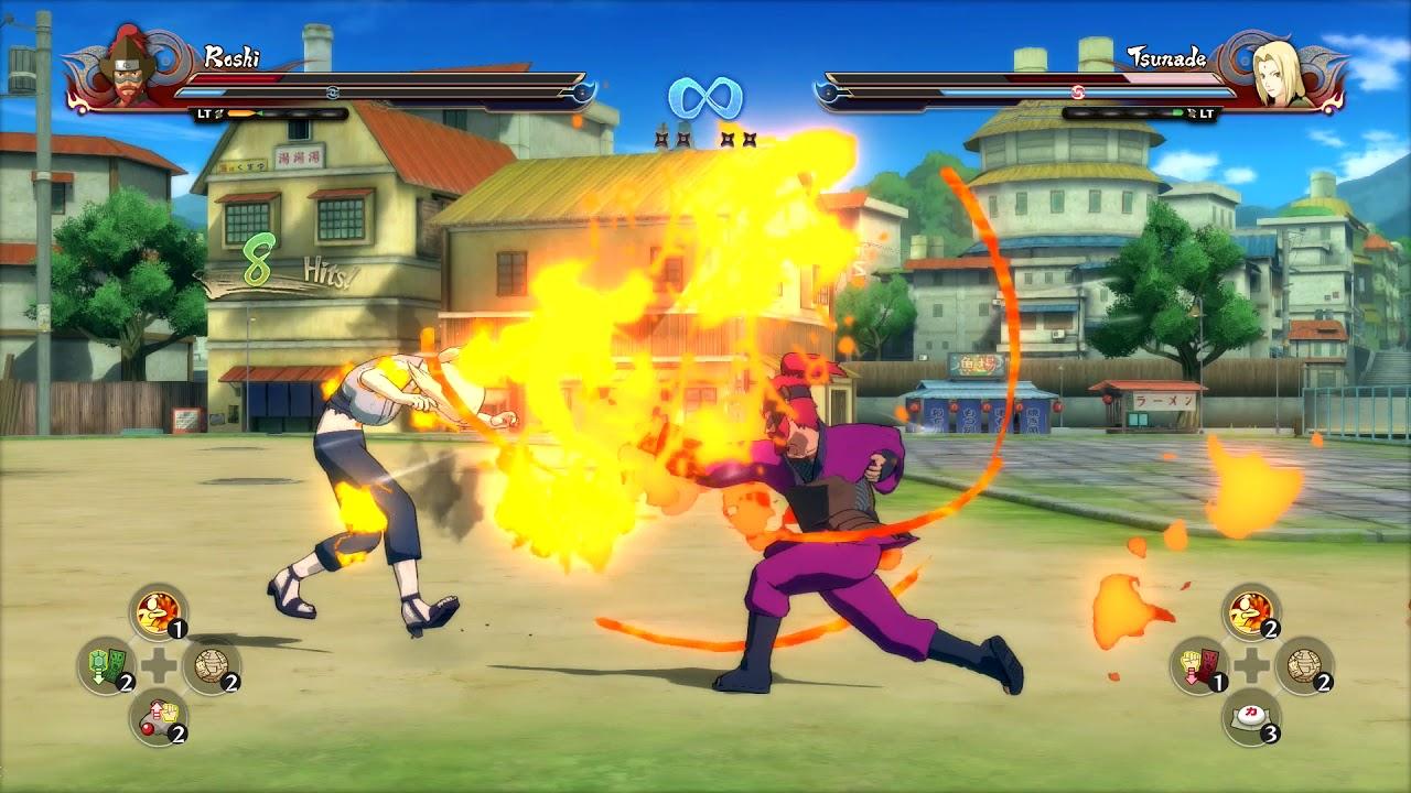 Naruto Shippuden: Ultimate Ninja Storm 4, Roshi VS Tsunade ...