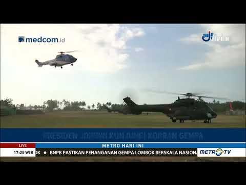 Presiden Jokowi Kunjungi Korban Gempa di Lombok