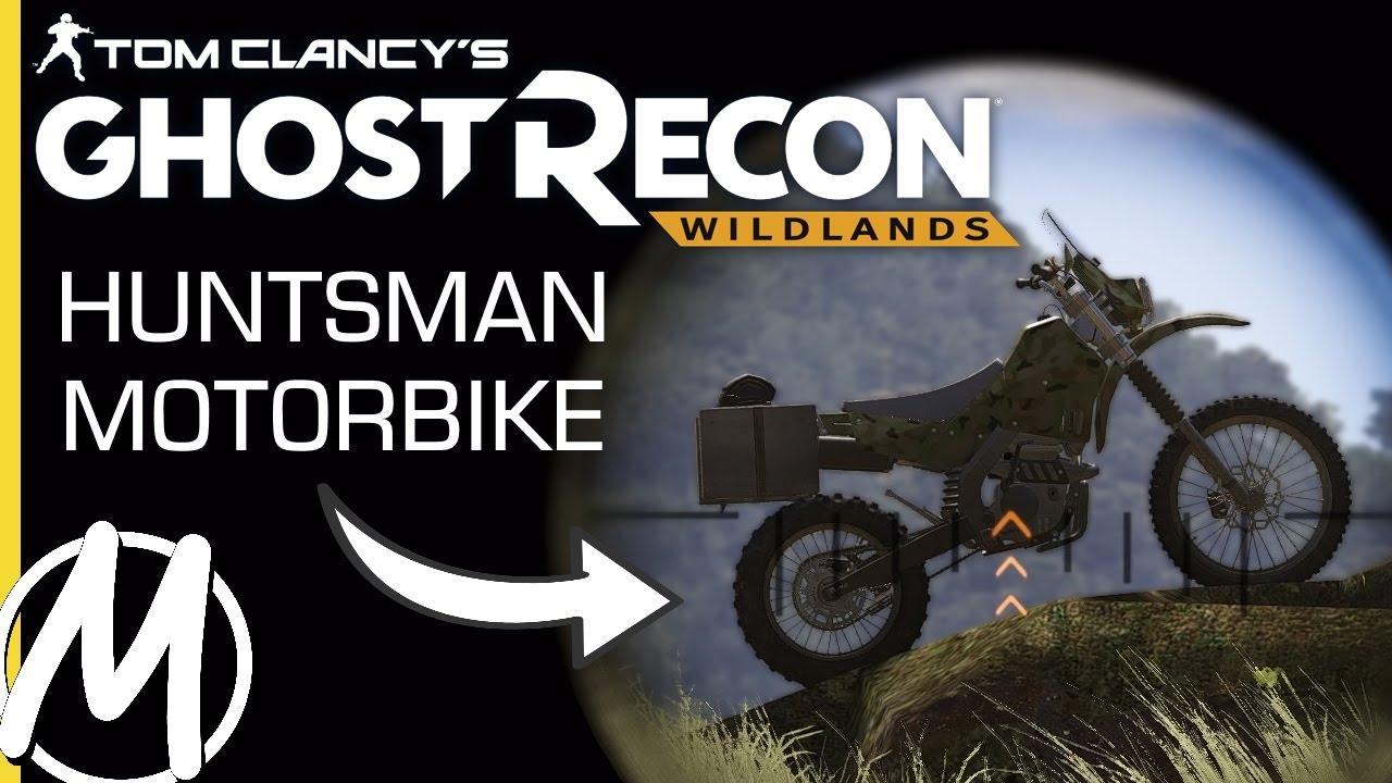How To Find The Huntsman Motorbike Ghost Recon Wildlands Tips