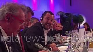 Salvini si scontra con il ministro del Lussemburgo