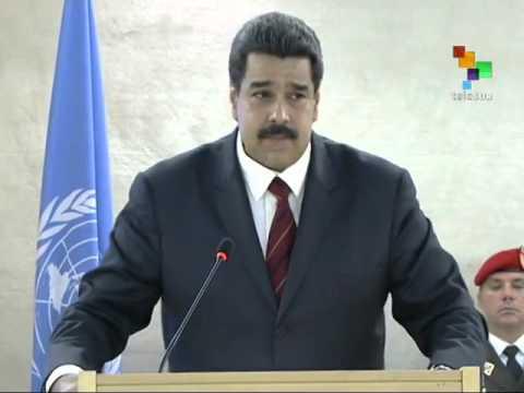 Venezuela: Maduro Addresses UN Human Rights Council