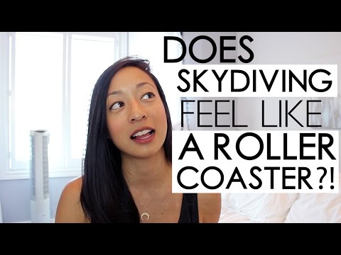 My Skydiving Experience | Does it feel like a roller-coaster?