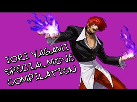 IORI YAGAMI Special Move Compilation | THE KING OF FIGHTERS