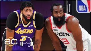 Reacting to the Rockets' Game 1 win vs. the Lakers | 2020 NBA Playoffs | SC with SVP