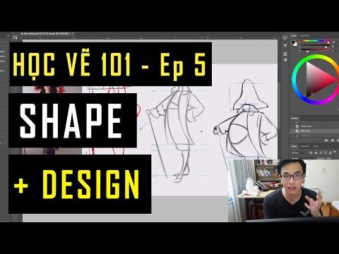 SHAPE + DESIGN - SHAPE LÀ GÌ? DÙNG NHƯ THẾ NÀO ? Học vẽ 101 -  Ep 5    MAIMAI ART