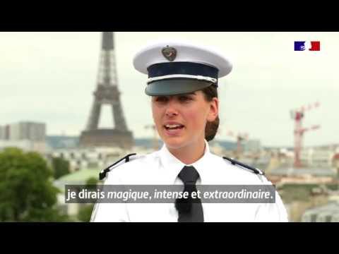 #14Juillet Marie, gardienne de la paix, a défilé en 2019