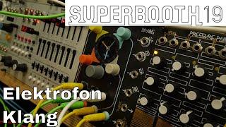 Superbooth 2019: Elektrofon Klang - Chord Controller Module