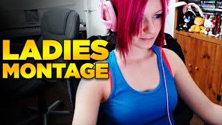 Ladies Montage - Insane plays #2 | League Of Legends