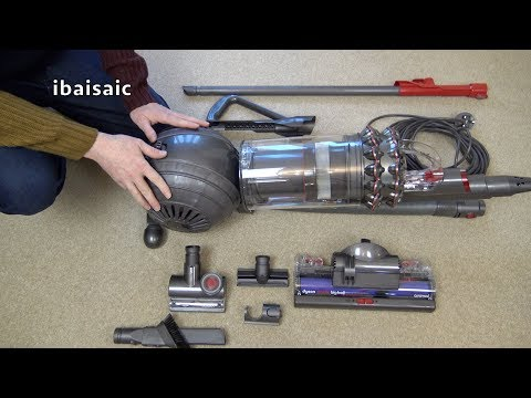 Dyson Cinetic Big Ball Upright Vacuum Cleaner Unboxing Assembly & First Look