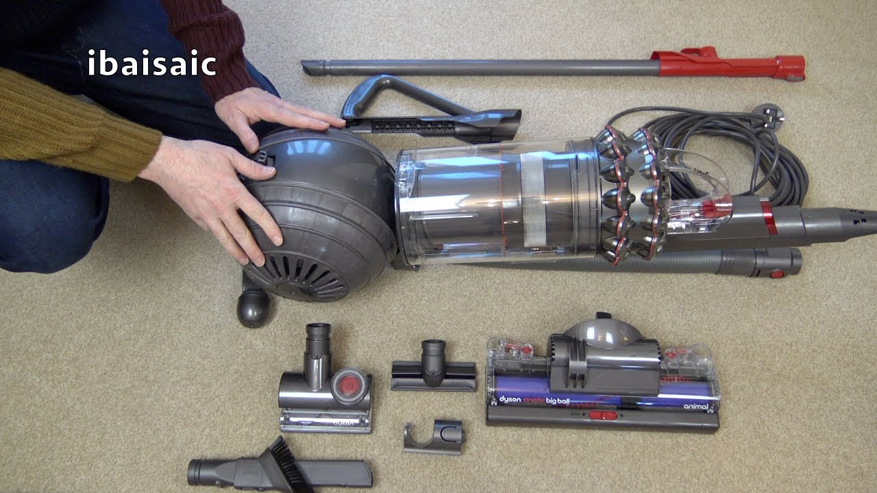 dyson cinetic big ball upright vacuum cleaner unboxing assembly first look youtube