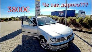 Купили BMW 318i e46 за 3800€!! Че так дорого???? Автомобили из Германии