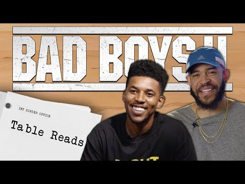 Nick Young and JaVale McGee As Marcus and Mike From
