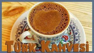 Sade Türk Kahvesi Nasıl Yapılır  Köpüklü Türk Kahvesi Tarifi