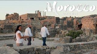 Morocco Trip by Car - Volubilis sunset / Moulay Idriss Zerhoun
