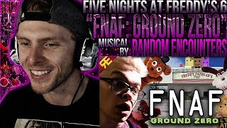 "Vapor Reacts #696 | FNAF 6 MUSICAL ""FNAF: Ground Zero"" by Random Encounters ft. CG5 REACTION!!"