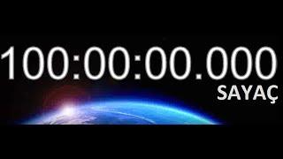 10 Saat Sayaç Geri Sayım 100-90 arası