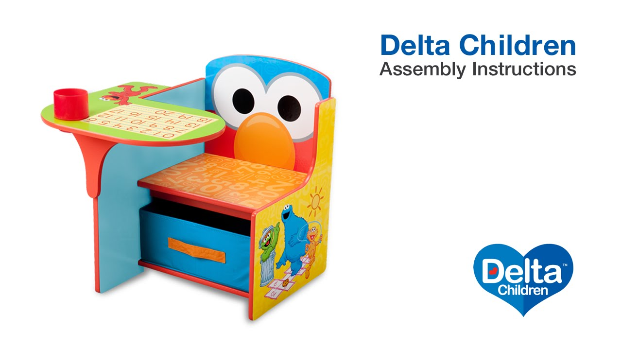 Incroyable Delta Children Chair Desk Assembly Video   YouTube