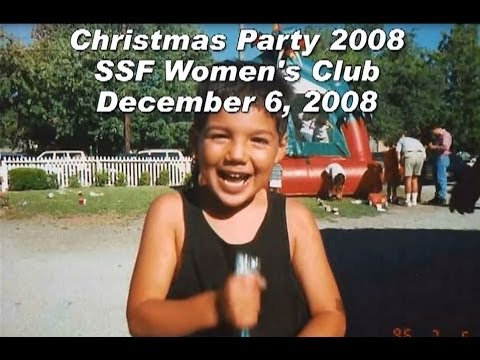 Gutierrez Christmas Party @ the SSF Women's Club - December 6, 2008
