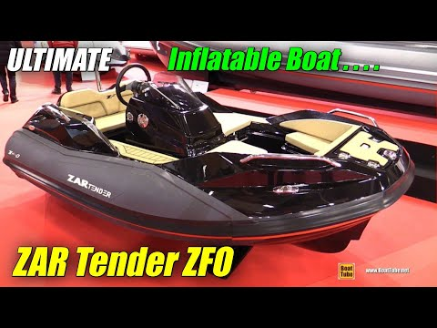 2017 ZAR Tender ZFO Inflatable Boat - Walkaround - 2016 Salon Nautique Paris