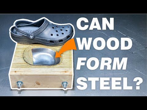 How I made steel toe crocs with wood - Stuff Made Here