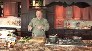 America's Healthy Chef - Brown Rice And Mushroom Pilaf