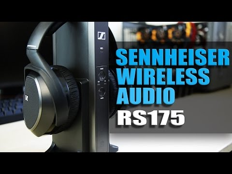 Sennheiser RS175 Wireless HiFi Headphones
