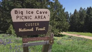 Exploring Backroads of Montana's Pryor Mountains: Big Ice Cave, Wildflowers, Chief Plenty Coups SP
