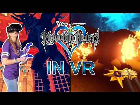 KINGDOM HEARTS BOSSES IN VR!